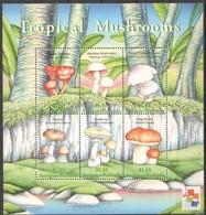 Antigua & Barbuda 2001 Yvertn° 2969-2974 *** MNH Cote 16,50 Euro Flore Champignons Paddestoelen Mushrooms - Antigua Et Barbuda (1981-...)