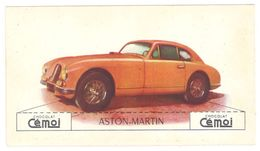 Chromo Chocolat Cemoi, Aston Martin - Chocolat