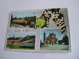 Asti - Saluti Da Isola D'Asti + Uva - Asti
