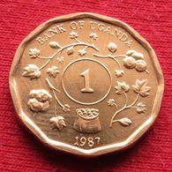 Uganda 1 Shilling 1987  Ouganda UNCºº - Ouganda
