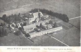 Chimay - Abbaye N.-D.-S.-J. De Scourmont - Vue Panoramique Prise En Avion - Chimay