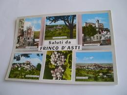 Asti - Saluti Da Frinco D'Asti + Uva - Asti
