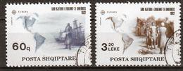 Albanie Mi 2510,2511 Europa Cept 1992 Gestempeld Fine Used - Europa-CEPT