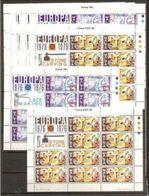 1976 Malta EUROPA CEPT EUROPE 50 Serie Di 2v. MNH** In 10 Minifogli Minisheets - 1976