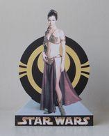 - STAR WARS - Movie Card's - PRINCESSE LEIA - Carte Publicitaire Découpée - - Cinema Advertisement