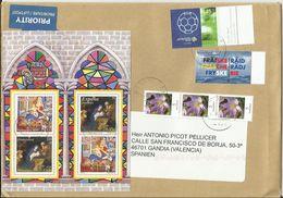 Alemania. 2014. Carta De Berlín A Gandia (España) - [7] República Federal