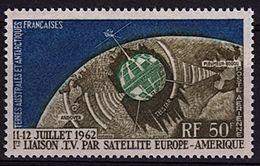 TAAF 1 - Poste Aérienne N° 6 Neuf** Télécommunications Spaciales - Airmail