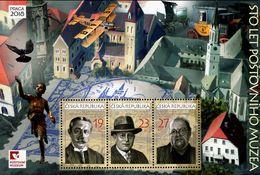 Czech Republic - 2018 - Centenary Of Postal Museum - Praga 2018 World Stamp Exhibition - Mint Souvenir Sheet - Ungebraucht