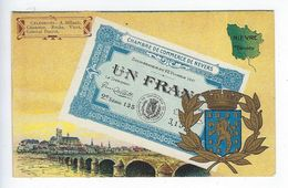 CPA 58 Chambre De Commerce De Nevers Un Franc - Nevers