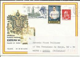 España. 1989. Entero Postal Exfilna 89. - Enteros Postales