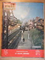 Vie Du Rail 873 1962 Lille  Villeneuve Triage Conlie Sillé Guillaume Evron Montsurs Laval Lacs Port Brillet  Vitré - Trains