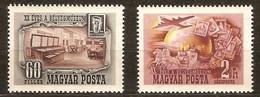 Hongrie Hongarije Ungarn 1950 Yvertn° 941 + LP PA 94 *** MNH Cote 20 Euro - Hongrie