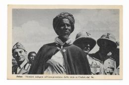 ADUA - NOTABILI INDIGENI ALL'INAUGURAZIONE DELLA STELE AI CADUTI DEL 96  - NV FP - Ethiopia