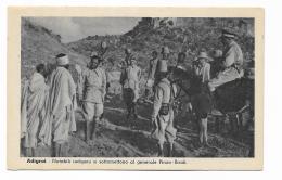 ADIGRAT - NOTABILI INDIGENI SI SOTTOMETTONO AL GENERALE PIRZIO-BIROLI  - NV FP - Ethiopia