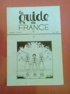 Juin 1939 LA GUIDE DE FRANCE Scoutisme Scouts Jeannettes - De Foucauld Rallye Des Flandres à Bouvines - Sport