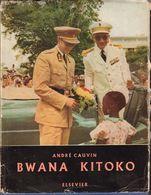 Congo Belge, Belgisch Congo:Bwana Kitoko, De Reis Van Koning Boudewijn Belgisch Congo & Ruanda-Urundi 1956 - Books, Magazines, Comics