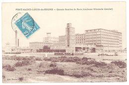 Cpa Port Saint Louis Du Rhône - Grands Moulins De Paris ( Ancienne Minoterie Gautier ) - France