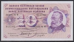 Switzerland 10 Franken 06.01.1977 UNC - Svizzera