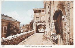 SEGURET - ( 84 ) - Porte Nord XIV Siécle - France