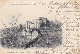 PREUILLY SUR CLAISE - Ruines Du Vieux Château - Francia