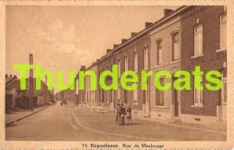 CPA ERQUELINNES RUE DE MAUBEUGE - Erquelinnes