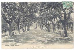 Cpa Fuveau - Le Cours - France