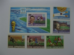 Central Africa 1978  World Cup Football   SC#303-307.308 - Central African Republic