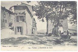 Cpa Fuveau - L'extrémité Du Cours - France