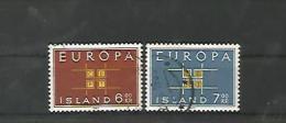 A05676)Island 373 - 374 Gest., Cept - 1944-... Republik