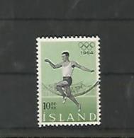 A05681)Island 387 Gest., Olympia - 1944-... Republik