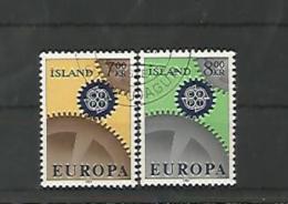 A05688)Island 409 - 410 Gest., Cept - 1944-... Republik