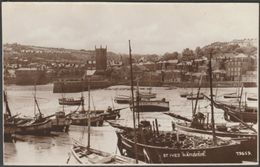 St Ives Harbour, Cornwall, C.1930 - Photochrom RP Postcard - St.Ives