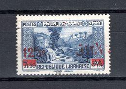 GRAND LIBAN  N° 162   OBLITERE COTE 4.50€   PAYSAGE MONUMENT - Oblitérés