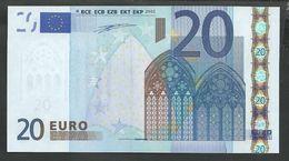 "Greece  ""Y""  20  EURO GEM UNC! Duinseberg Signature! Printer N001A1 GEM UNC! - 20 Euro"