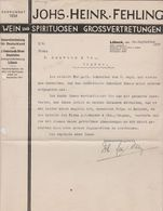 LUBECK JOHS HEINR FEHLING - Germany