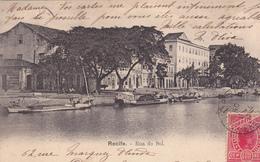 BRESIL. RECIFE. CPA. RUA DO SOL. ANNEE 1904 - Recife