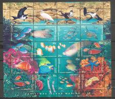 ILE CHRISTMAS (Océan Indien)   Faune Marine De L'île. Feuillet Neuf ** Année 1998 - Christmas Island