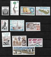 #B64# TAAF FAST COMPLETE YEARSET 1992 MNH**. - Full Years