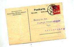 Carte Cachet Neuhausen Sur Tell - Marcophilie