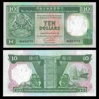 Hong Kong 10 DOLLARS 1992 P 191c UNC - Hong Kong
