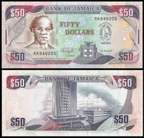 Jamaïque 50 DOLLARS 2010 Commemorative P 88 UNC - Jamaique
