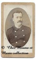 ALGER - ETOILE 6 BRANCHES - PAR CASTELLI ALGERIE - CDV PHOTO MILITAIRE - Guerre, Militaire