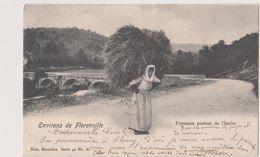 FLORENVILLE -( ENVIRONS DE )   Paysanne Portant De L'herbe...1902 - Florenville