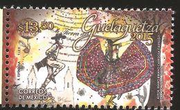 J) 2015 MEXICO,  GUELAGUETZA, TYPICAL COSTUMES, MNH - Mexico