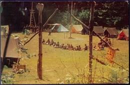 CROATIA - JUGOSLAVIA - Office Card SCOUTS CAMP  GUDNOGA - RIJEKA  FIUME  -1979 - Scouting