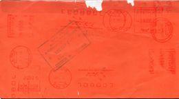 Bolivia 2008 Tarjeta AR De Contrato ECA (Correspondencia Acumulada). Franqueo Mecánico. - Bolivia