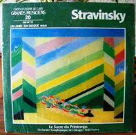 33 TOURS N° 20 VINYLE GRANDS MUSICIENS 1 LIVRE + 1 DISQUE 1990 NEUF STRAVINSKY SOUS PLASTIQUE D'ORIGINE - SITE Serbon63 - Classical