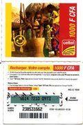 @+ Niger - Prépayée Celtel - 1000 FCFA - Code NG-G Au Verso - Niger