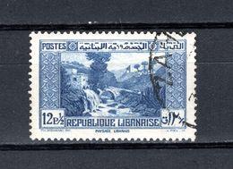 GRAND LIBAN  N° 171   OBLITERE COTE 0.30€   PAYSAGE  PONT  MAISON - Oblitérés