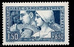 France Le Travail YT N° 252 Neuf *. Gomme D'origine. B/TB. A Saisir! - France